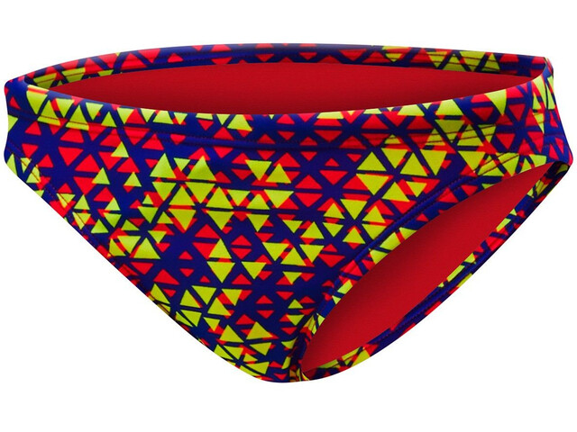 TYR Modena Slip del bikini mini Mujer, red/yellow